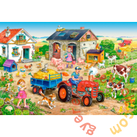 Castorland 40 db-os MAXI puzzle - Élet a farmon (B-040193)