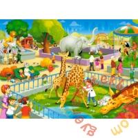 Castorland 60 db-os puzzle - Az állatkertben (B-066155)