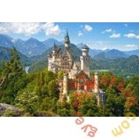 Castorland 500 db-os puzzle - Neuschwanstein kastély (B-53544)