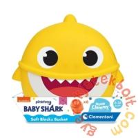 Clemmy Baby Puha kockák - Baby Shark mini tároló