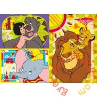 Clementoni 3 x 48 db-os Szuper Színes puzzle - Disney klasszikusok (25236)