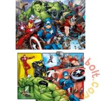 Clementoni 2 x 60 db-os puzzle - Avengers - Bosszúállók (21605)