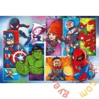 Clementoni 24 db-os Szuper Színes Maxi puzzle - Marvel Szuperhősök (24208)