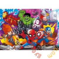 Clementoni 30 db-os Szuper színes Maxi puzzle - Marvel - Super Hero Adventures - többféle (22703)