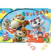 Clementoni 24 db-os Maxi puzzle - 44 csacska macska - Cool Cats (28512)