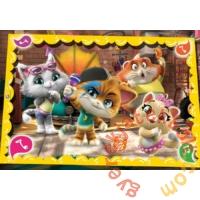 Clementoni 60 db-os puzzle - 44 csacska macska (26052)