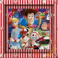 Clementoni 60 db-os puzzle képkerettel - Toy Story (38806)