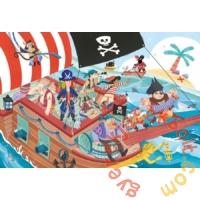 Clementoni 24 db-os Szuper Színes Maxi puzzle - Pirates - Kalózok (24209)