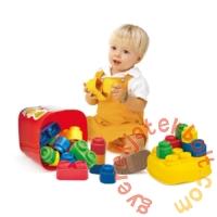 Clemmy Baby Puha kockák 20 db-os játékszett dobozban (14741)