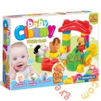 Clemmy Baby Boldog Farm puha építőjáték (14954)