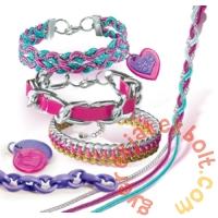 Clementoni - Crazy Chic - Rock Style karkötő készítő szett (78255)
