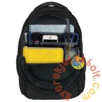 BackUp iskolatáska, hátizsák - 3 rekeszes - Málnás (PLB2N30)