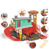 Dickie Sam, a tűzoltó - Tűzoltóállomás játékszett Jupiter tűzoltóautóval (3097003)