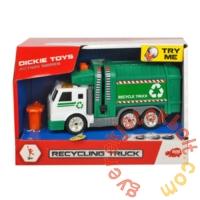 Dickie Action series játék kukásautó - 15 cm (3302018)