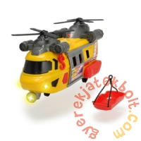 Dickie Action series Rescue játék helikopter - 30 cm (3306004)