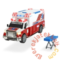 Dickie Action series játék mentőautó - 37 cm (3308381)