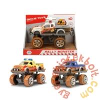 Dickie Játék Rally Monster kisautó - Sárga - 15 cm (3742010)