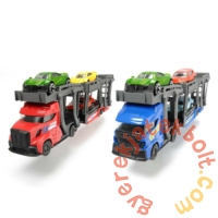 Dickie City Express autószállító kamion - Kék - 28 cm (3745008)