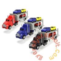 Dickie 32 cm-es Autószállító kamion - Piros (3746000)