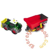 Dickie Happy Farm Fendt traktor utánfutóval - 60 cm (3819002)