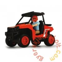 Dickie Playlife - Park Ranger terepjáró autó figurával játékszett (3833005)