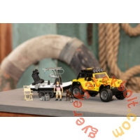 Dickie Playlife - Jeep Commando horgász szett (3838001)