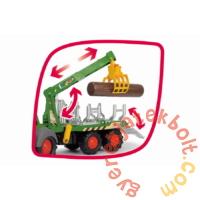 Dickie Happy Fendt traktor rönkszállítóval - 65 cm (203819003)