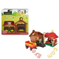 Dickie Happy Farm ház traktorral játékszett