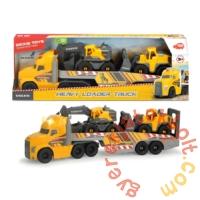 Dickie Óriás Mack kamion Volvo munkagépekkel - 70 cm