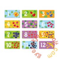 Dodo 2 x 12 db-os Duo puzzle - Bogyók (300116)