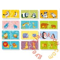 Dodo 2 x 12 db-os Duo puzzle - Mamák és babák (300150)