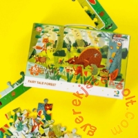 Dodo 80 db-os - Figyeld meg! puzzle - Mesebeli erdő (300366)