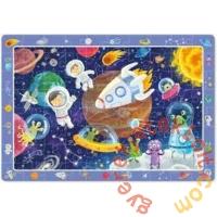 Dodo 80 db-os - Figyeld meg! puzzle - Űrutazás (300368)