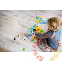 Dodo 21 db-os keretes puzzle - Zsiráf (300223)