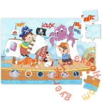 Dodo 35 db-os mini puzzle - Kalózok (300279)