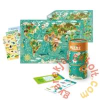 Dodo Mon puzzle és társas - A világ állatai - 40 db (200113)