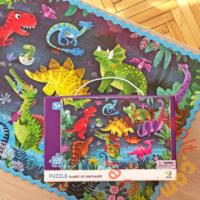 Dodo 100 db-os puzzle - Dinoszauruszok földjén (300403)