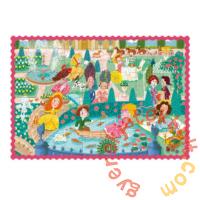 Dodo 100 db-os puzzle - Hercegnők a sétányon (300404)