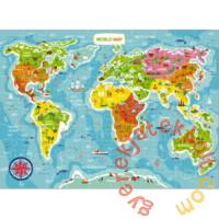 Dodo 100 db-os puzzle - Világtérkép (300123)