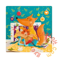 Dodo 16 db-os puzzle - Róka koma ajándéka (300261)