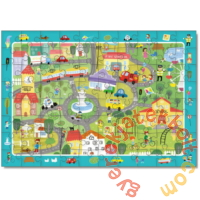Dodo 80 db-os - Figyeld meg! puzzle - Élet a városban (300135)