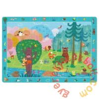 Dodo 80 db-os - Figyeld meg! puzzle - Erdei állatok (300140)