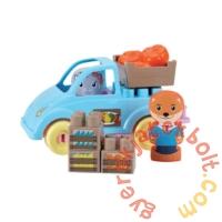 Écoiffier Abrick Twee Pop piac játékszett figurákkal (3018)