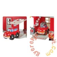 Écoiffier Abrick Tűzoltóállomás nagy játékszett figurákkal (3026)