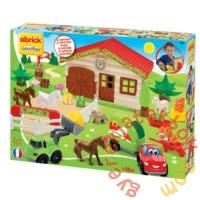 Écoiffier Abrick Lovas farm játékszett (3036)