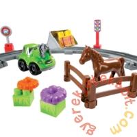 Écoiffier Abrick Vonatos farm játékszett (3068)