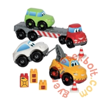 Écoiffier Abrick Autómentő járművek játékszett (3345)