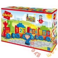 Écoiffier Abrick betűk és számok vonatos építőjáték (3349)