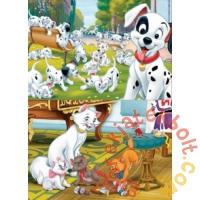 Educa 2 x 25 db-os fa puzzle - Disney állatkák (18082)