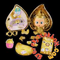 Cry Babies Varázskönnyek meglepetés baba cumisüveg házikóban - Arany kiadás